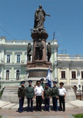 Военно-мемориальный поход в Одесскую область к месту боя офицеров и кадет с частями Котовского под Канделем (Лиманское)