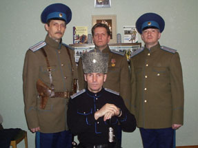 Штаб ОСКК «Казачій ОплотЪ» июнь 2006г.
