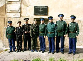 Чугуевский поход. Знакомимся с историей края. Чугуевское военное училище, здесь учился будущий белый генерал Штейфон Б.А. Май 2007г.