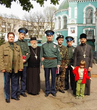 Поход в Черкасскую область по казачьим местам. г. Золотоноша май 2009г