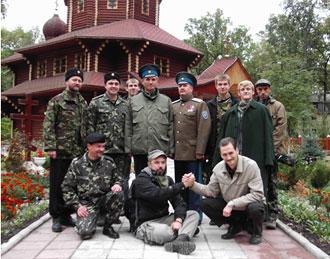 В гостях у боярских казаков. Сентябрь 2010г.