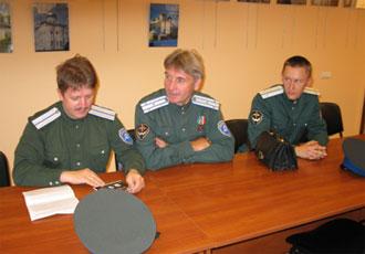 В гостях в Росзарубежцентре. 2009г.
