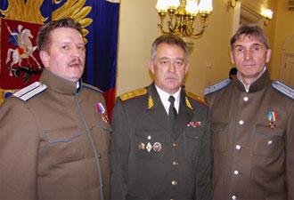 На приёме в Российском посольстве